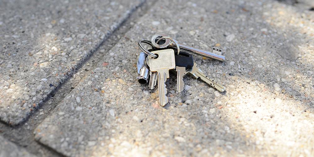 Lost car keys no spare